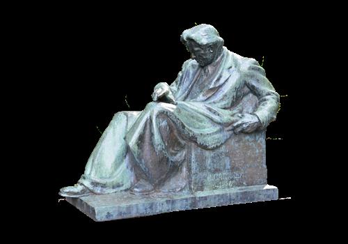 Statuia lui George Enescu - Tescani
